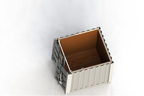 8 fodsi teknikkimut containeri