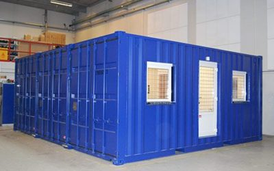 Residential rooms in containers