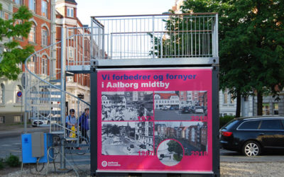 10ft infopoint container for Aalborg Municipality