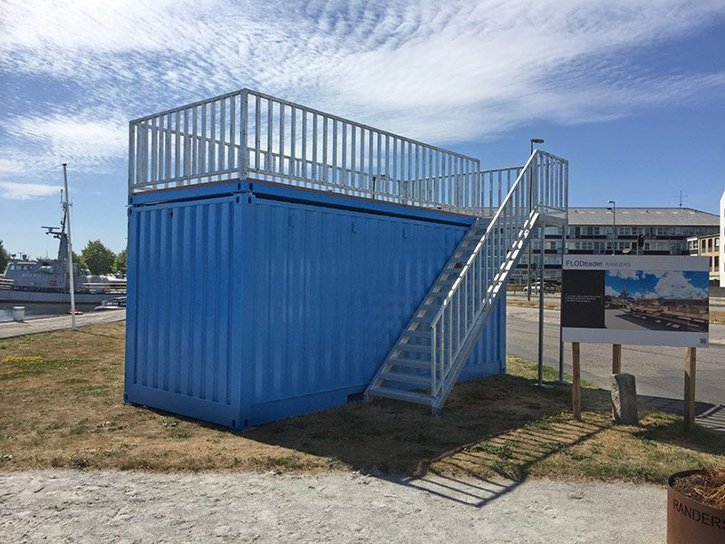 Mobile info container for the Municipality of Randers
