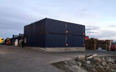 Kalaallit Nunaannut qerititsivik, containerinik uiguleriinnit sanaaq