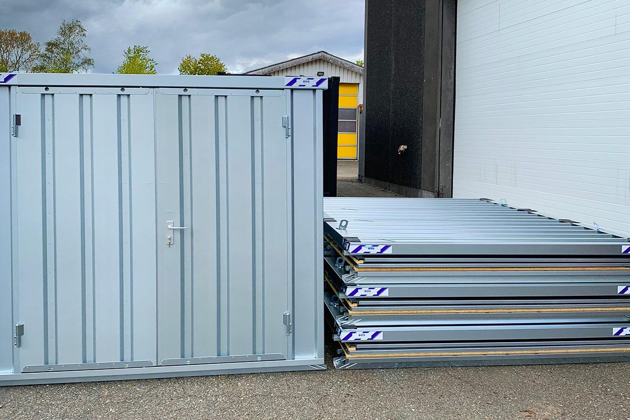 Containeri 20 fodsi ussassaarinermi akia – Kr. 29.500,00 Nørresundbymi toqqorsiviup eqqaani