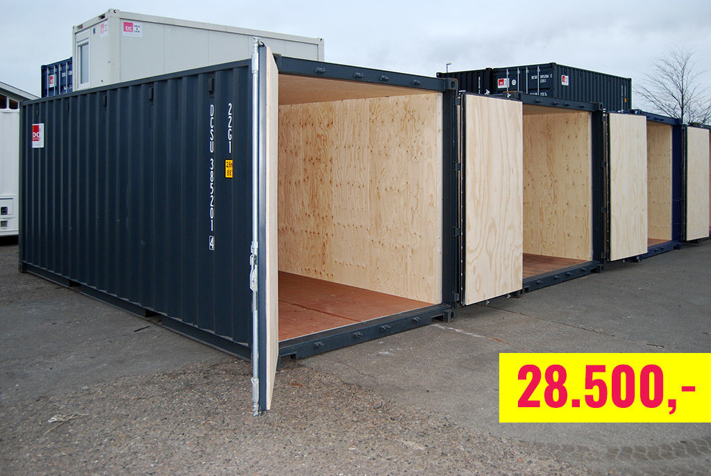 Containerimik kiffiusersukkamik 20 fodsimik ukiamut piareerit – toqqorsiviup silataani taamaallaat 28.500,00 kr.-eqarpoq.