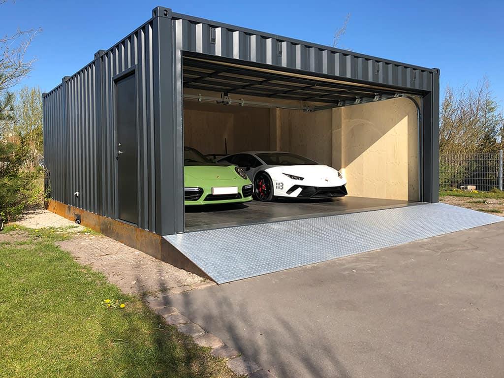 Garage containeri innaallagiartortumik isaaffilik