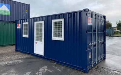 Residential container – 2 rooms with toilet and shower – DCS 2032