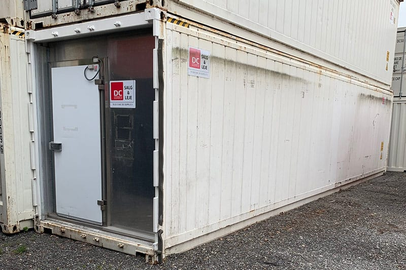 40 ft reefer container - DKK 55,000 ex. VAT.